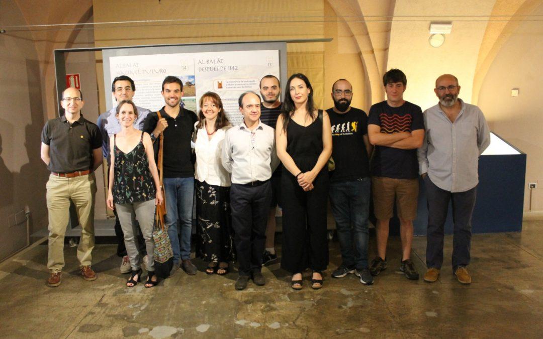 Grupo de la exposición sobre Albalat en la frontera de al-Ándalus