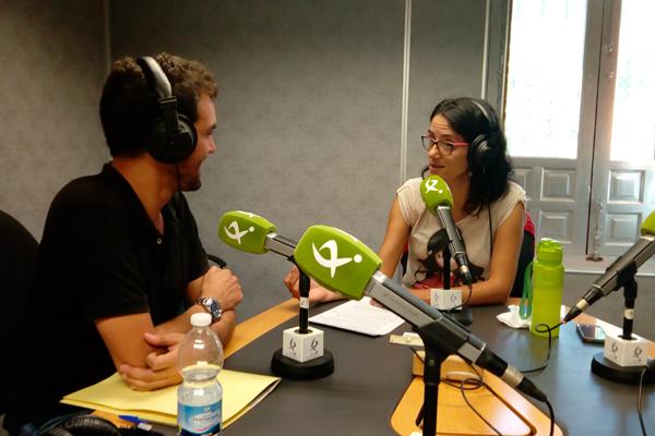 Entrevista de Carmen Hernández a Carlos Marín Hernández en el programa «Todos los Caminos» de Canal Extremadura Radio