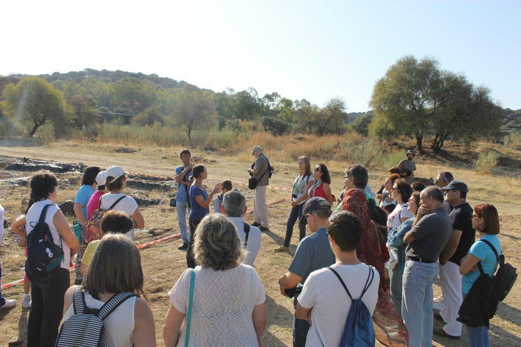 Viaje arqueológico al yacimiento arqueológico de Madinat Albalat coordinado por Carlos Marín Hernández