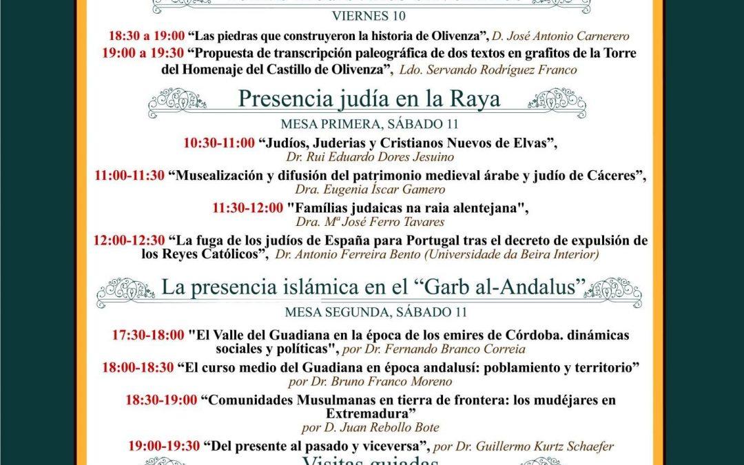 """Juan Rebollo, en las """"III Jornadas Transfronterizas sobre Historia Medieval"""" de Olivenza"""