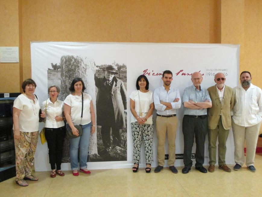 """Comisariado de la exposición temporal """"Vicente Paredes en el Patrimonio Cultural de Extremadura, 1916-2016"""""""