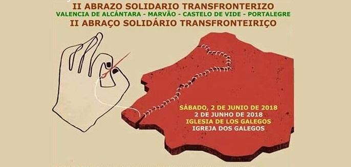 Historiadores en La Raya. El «II Abrazo Solidario Transfronterizo»