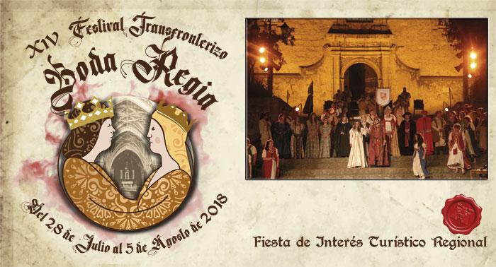 XIV Festival Transfronterizo «Boda Regia» (Valencia de Alcántara, julio-agosto de 2018)