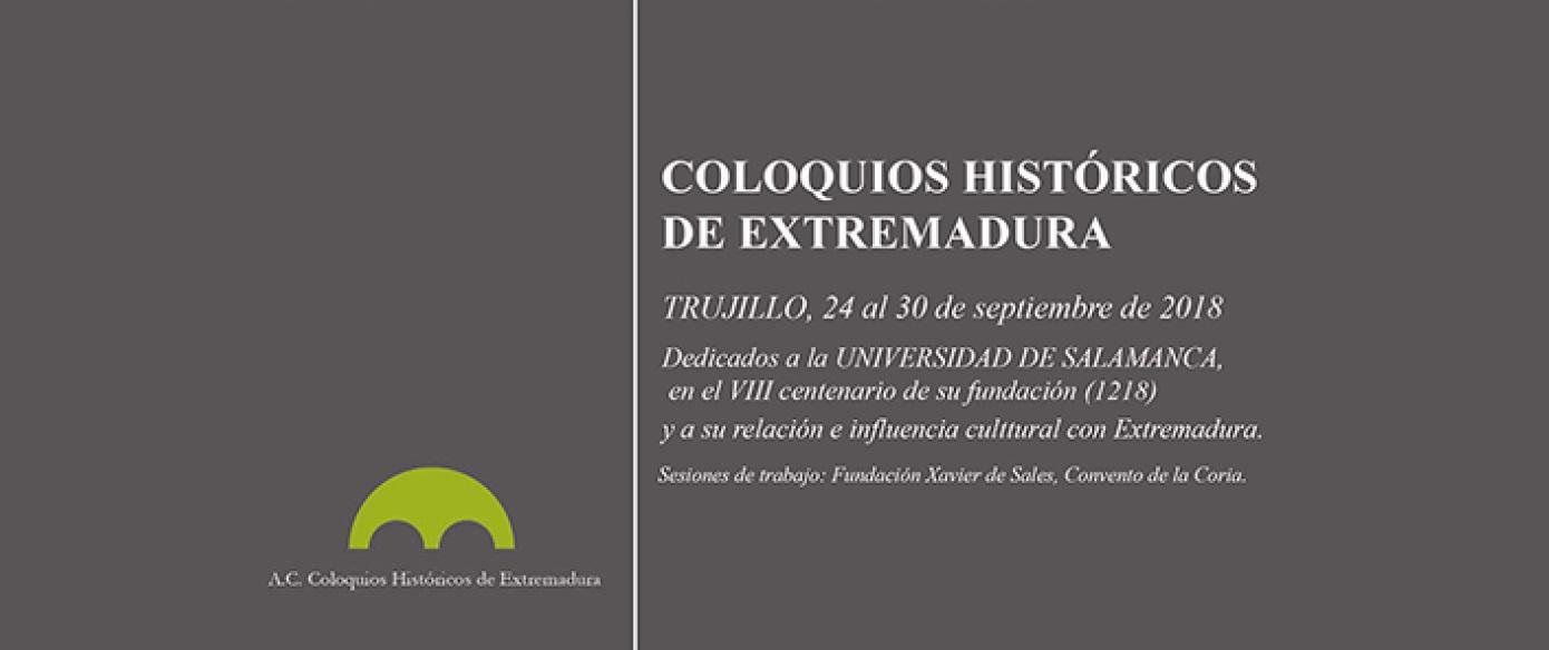 Los guías-historiadores Álvaro Vázquez y Juan Rebollo participan en los XLVII Coloquios Históricos de Extremadura