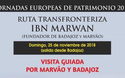 """Ruta transfronteriza """"Ibn Marwan"""", domingo 25 de noviembre de 2018"""