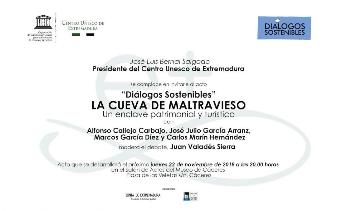 «Diálogos Sostenibles 2018» del Centro UNESCO de Extremadura: a propósito de la cueva de Maltravieso