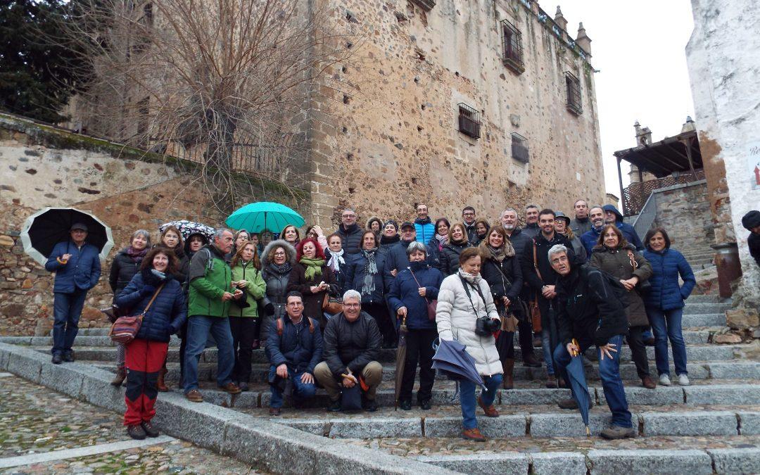 Viajando con la Sociedad Extremeña de Arqueología y Patrimonio (I): Cáceres
