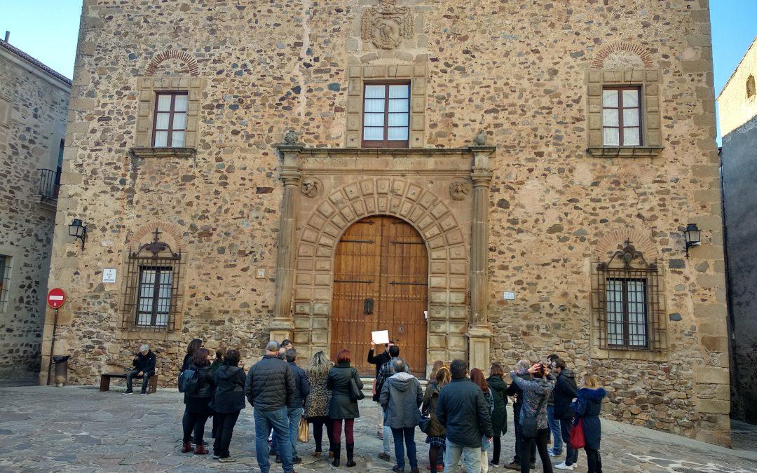 Didáctica de la arquitectura: palacios y casas señoriales (CPR de Cáceres)