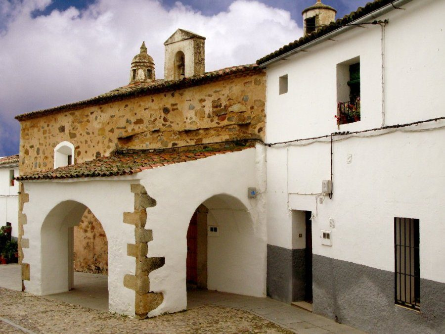 Ermita de San Antonio en Cáceres, antigua sinagoga de la Judería Vieja