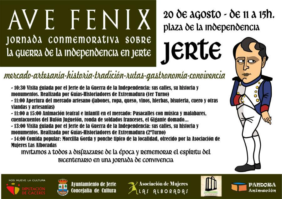 «Ave Fénix»: la Guerra de la Independencia en Jerte (Cáceres)