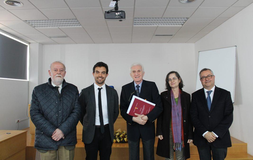 Carlos Marín obtiene el título de Doctor en Historia por la Universidad de Extremadura