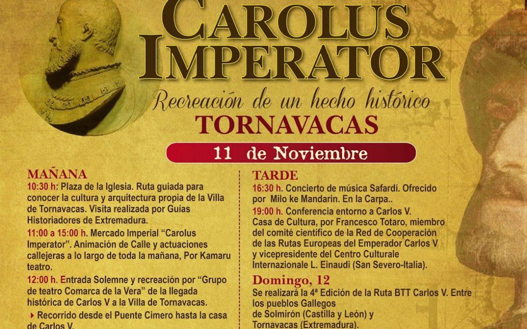 Colaboramos en el III Mercado Carolus Imperator (Tornavacas, Cáceres)