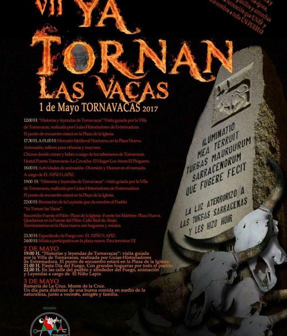 «Ya tornan las vacas» 2017 (Tornavacas, Cáceres): la recreación de la leyenda