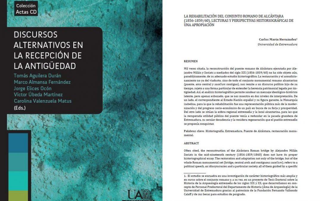 El puente de Alcántara en el siglo XIX. Lecturas y perspectivas de una rehabilitación, por Carlos Marín