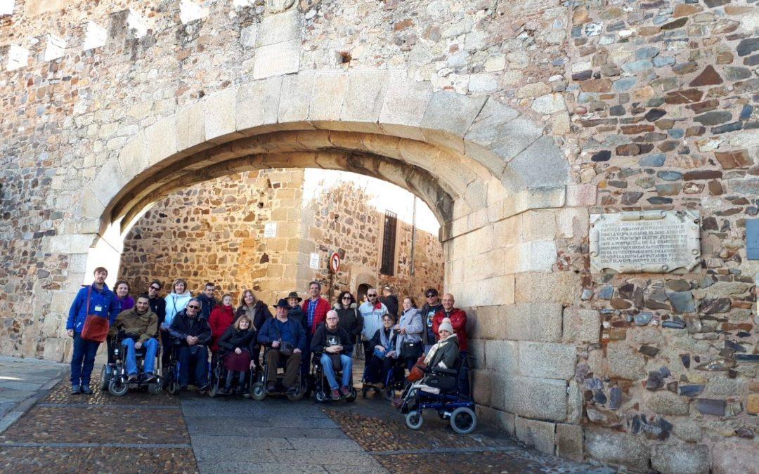 Turismo inclusivo: «Viajando con grupos inclusivos», en Cáceres