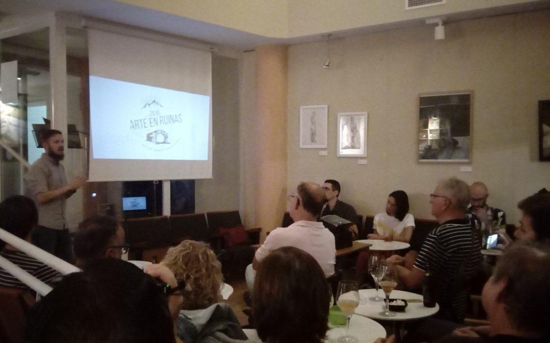 Otra agradable tarde de «Cafés con Historia» (V edición) hablando sobre Extremadura y su patrimonio