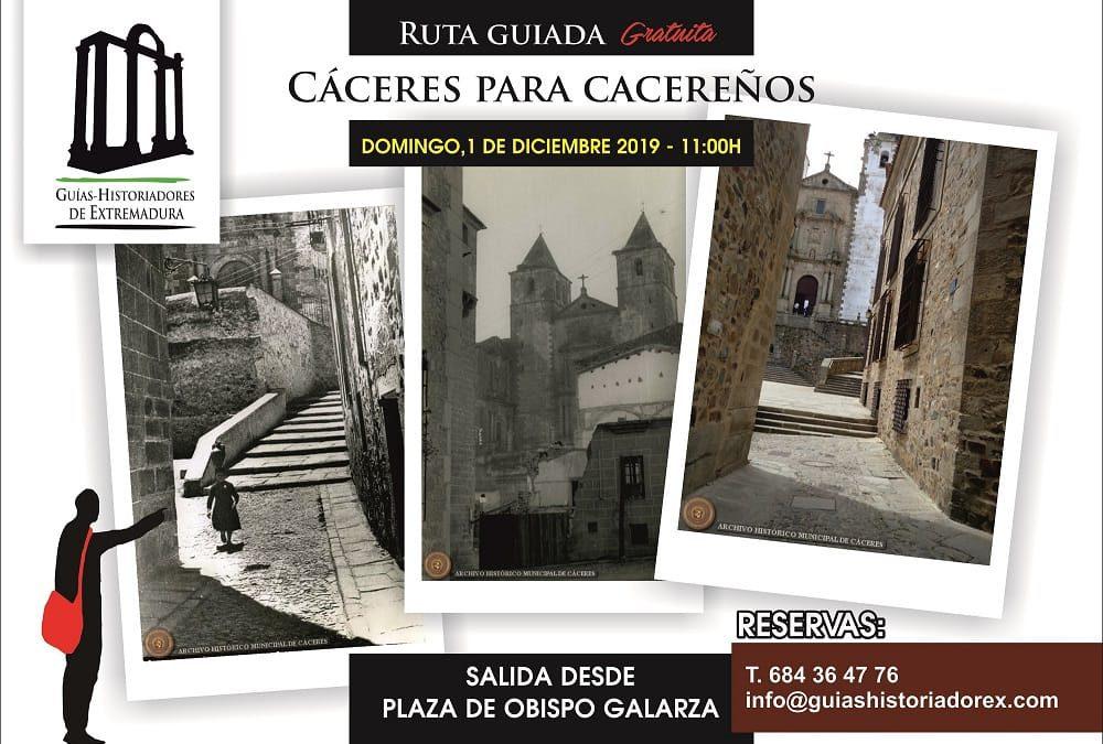 Nueva ruta para cacereños con Guías-Historiadores de Extremadura