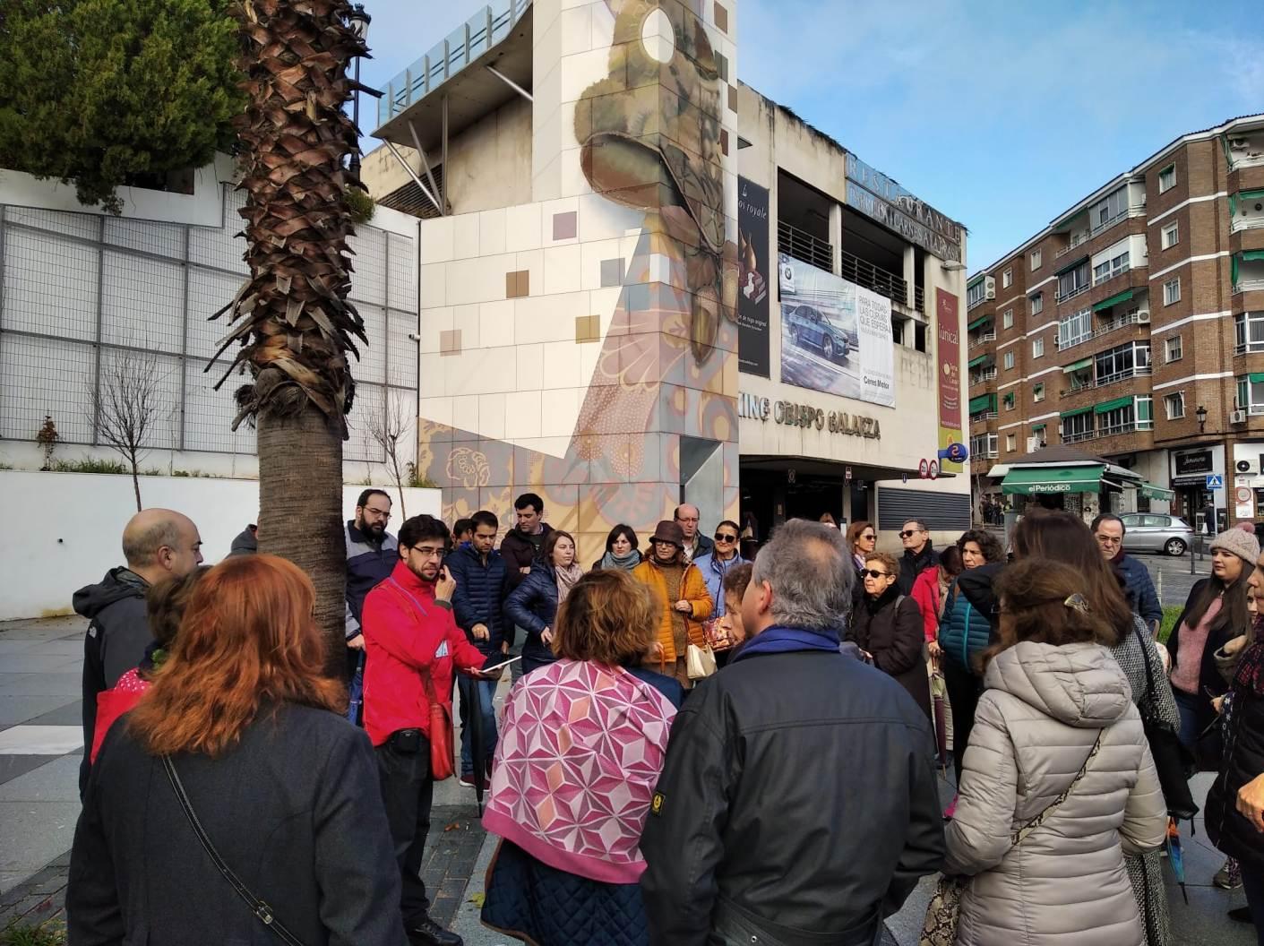 """""""Cáceres para cacereños"""", en la Plaza de Obispo Galarza"""