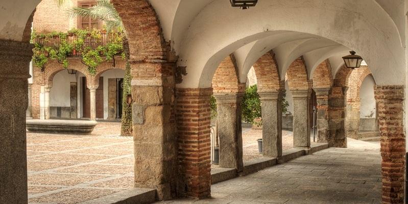 Soportales de la Plaza Grande de Zafra