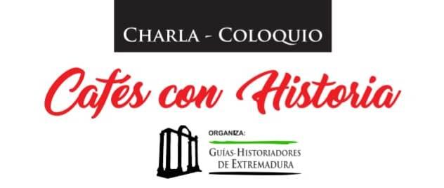 Cabecera y logo de Cafés con Historia