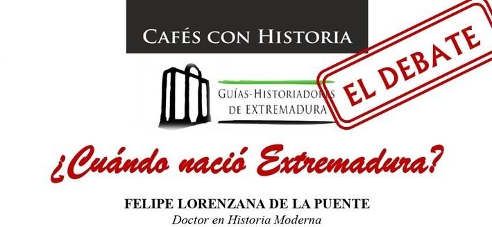 El nacimiento de la provincia extremeña en el VII «Cafés con Historia»