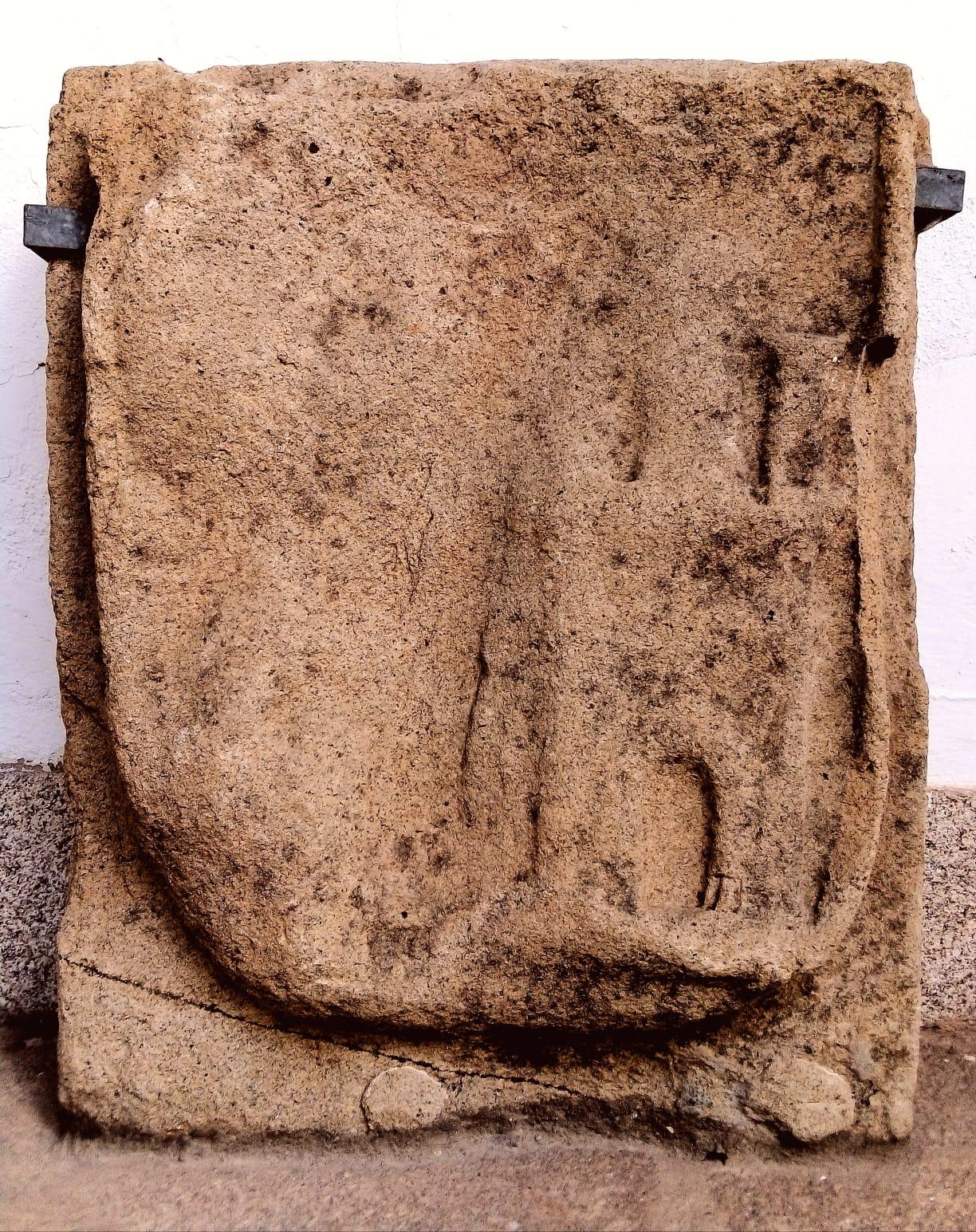 Escudo de Cáceres en el Museo Provincial