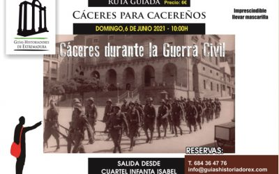 Cáceres durante la Guerra Civil, 6 de junio de 2021