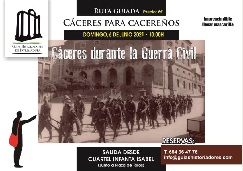 Cáceres para cacereños, la ciudad durante la Guerra Civil